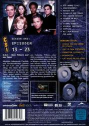 CSI: Crime Scene Investigation: Season One: Episoden 13-23